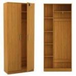 Гардеробные шкафы из ДСП (2)